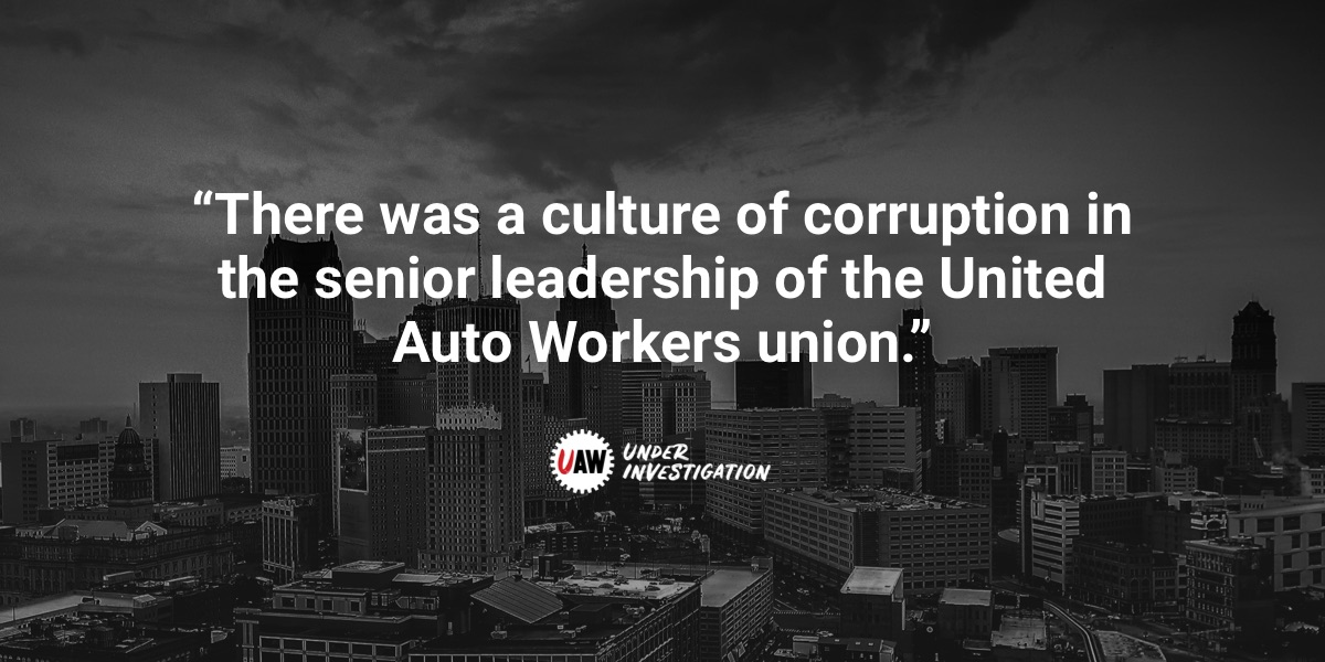 Home - UAW Investigation